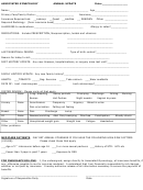 Annual Update Form