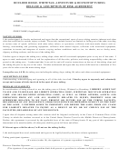 Release & Assumption Of Risk Agreement Form