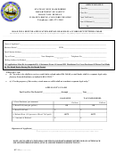 Form Rt115 - Road Toll Refund Application - Departament Of Safety Road Toll Bureau, State Of New Hampshire