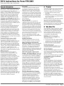 2015 Instructions For Form Ftb 3801 Passive Activity Loss Limitations