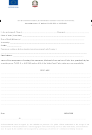 Self-declaration Affidavit (according To Art. 47 And Art.19 Of D.p.r. N. 445/2000)