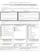 Foreign National Information Form
