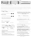 Spousal Financial Data Form