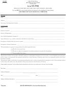 Form U10 Uniform Examination Request For Non Finra Candidates ...