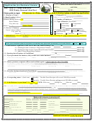 Application For Business License Form - City Of North Bend