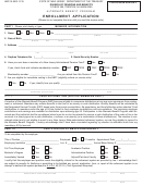 Enrollment Application Form - New Jersey Department Of The Treasury
