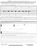 Application For Education Loan Form