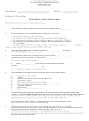 Respondent's Written Pleading Form - United States Department Of Justice