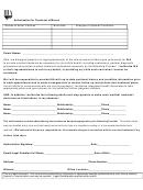 Authorization To Treat Minor Form