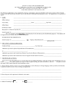 Application Form For Membership On The Criminal Justice Act Misdemeanor Panel