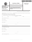 Odometer Disclosure Statement For Title Transfers - Illinois Secretary Of State