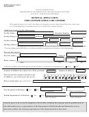 Form Dphhs-qad/ccl-035a Renewal Application For Licensed Child Care Centers