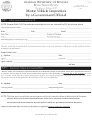 Form Mvt 5-10 - Motor Vehicle Inspection By A Government Official
