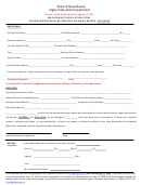 Employment Verification Form - Teacher Loan Repayment Program - State Of New Mexico, Higher Education Department