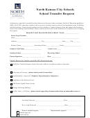 Form 07153 - North Kansas City Schools School Transfer Request Form