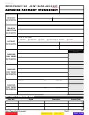 Form Rev-548 Ex - Advance Payment Worksheet