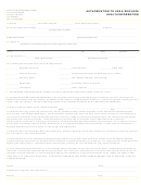Authorization To Use & Disclose Health Information Form