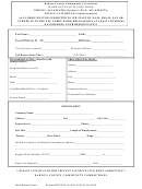 Work Release Intake Form