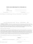Public Records Request (commercial) Form - City Of Dayton, Kentucky