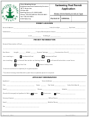 Swimming Pool Permit Application Form - City Of Bowling Green