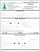 Manufactured Home Permit Application Form - City Of Bowling Green