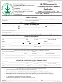 No Fee Fence And/or Accessory Structure Permit Application Form - City Of Bowling Green