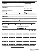 Form 12175 - Third Party Contact Report Form - Department Of The Treasury