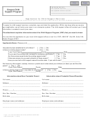 Form Csf 03 0574 - Application For Child Support Services Oregon Child Support Program