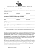 Parent/guardian Consent And Player Medical Release Form