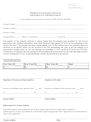 Dte Form 102 - Statement Of Conveyance Of Current Agricultural Use Valuation Property - Ashtabula County Auditor