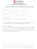 Sba 504 Loan Application - Statement For 912 Secondary Clearance Form