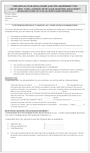 Pre-application Disclosure And Fee Agreement Template