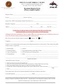 Court Document Request Form