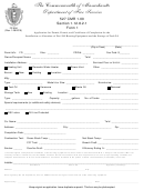 Application Form For Permit, Permit, And Certificate Of Completion For The Installation Or Alteration Of Fuel Oil Burning Equipment And The Storage Of Fuel Oil - Department Of Fire Services