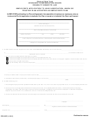 Form Db-802 - Employer's Application To Have Association, Union Or Trustee Plan Accepted As Employer's Plan