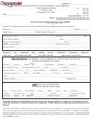 Mechanical/gas Permit Application Form