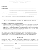 Utility Users Tax Exemption Request Form For Federal Credit Unions - City Of El Segundo