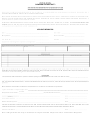Application For Exemption To The Window Tint Law Form