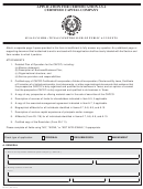 Texas Application Form For Certification As A Certified Capital Company