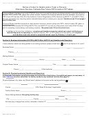 Notice Of Intent To Handle And/or Treat Or Recycle Template