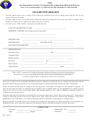File Review Request Form
