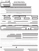 Application Form For Certifcate Of Title For A Leased Motor Vehicle