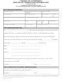 Form Wcb-7 - Certificate Authorizing Release Of Unemployment Information