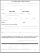 Newborn Hearing Screening Results Form - Utah Department Of Health