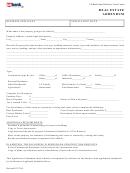 Real Estate Addendum Form