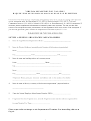 Request Form For Extension Of Sales And Use Tax Exemption - Virginia Department Of Taxation