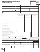Form 611x - Amended Alaska Corporation Net Income Tax Return