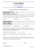 Aleknagik Business Registration Form