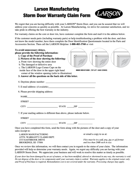 Top 5 Samples Warranty Form Templates Free To Download In Pdf Format