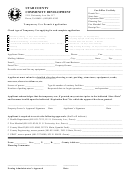 Temporary Use Permit Application Form